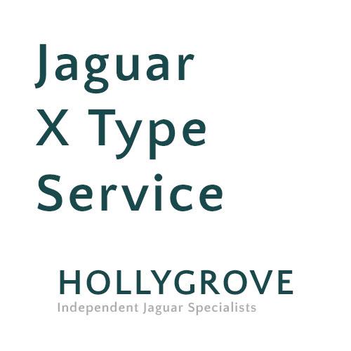 Jaguar X Type Service