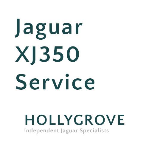 Jaguar XJ350 service
